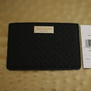 NWT Kate Spade Wallet with spade imprints